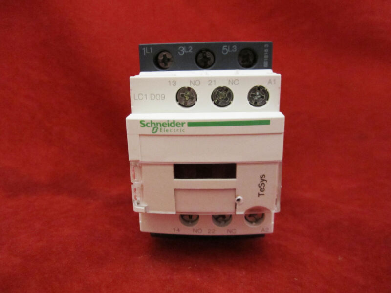 Schneider/Telemecanique LC1D09F7 Magnetic Contactor AC110V
