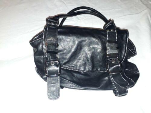 Marco Tozzi Handtasche schwarz echt Leder