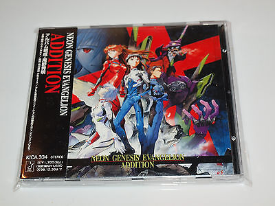 Neon Genesis Evangelion Addition NGE Original Japan CD Anime KICA-334