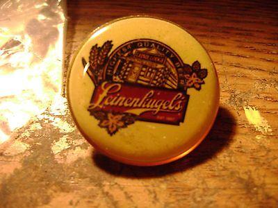 "Leinenkugel advertising 1"" round UNION MADE LAPEL PINS LEINIE LODGE BRAND NEW"
