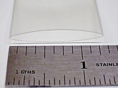 Heat Shrink Tube Clear - 34 - 20mm - 5 Feet - 21 Shrink Ratio
