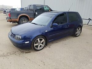 2002 Volkswagen Golf lots done