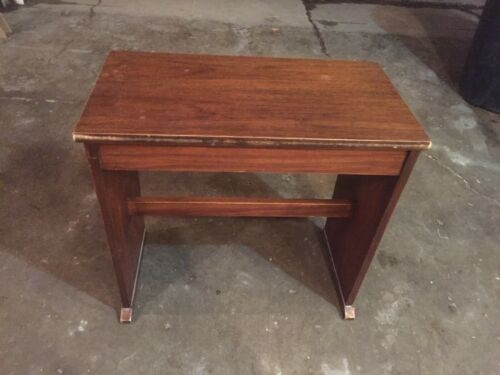 Vintage Organ Bench! Measures 23.75in W x 22.5in T x 13in D MAKE OFFER!
