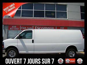 2017GMC Savana Cargo Van Traction arrière 2500 Comme Neuve!!!