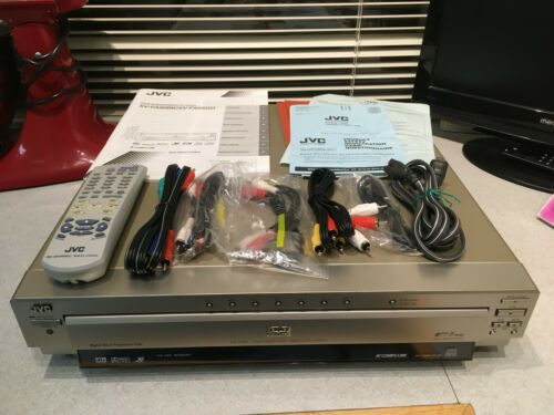 JVC XV-FA95GD 7-Disc Carousel Changer DVD CD Player with Cables/Manual/Remote