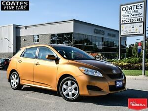 2009 Toyota Matrix XR AWD~New Rear Pads & Rotors~