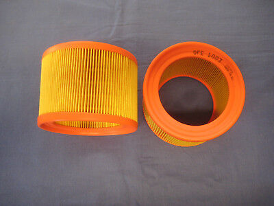 MGB ROADSTER  GT 1800 PAIR ORIGINAL AIR FILTERS GFE1003  COUNTER TWO AIR FILTER