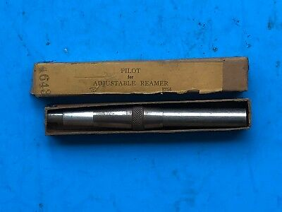 Pilot For Adjustable Reamer 1732 To 1932 Usa