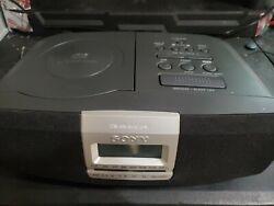 Sony FM / AM Stereo CD Player Clock Radio Alarm Clock Dream Machine ICF-CD821