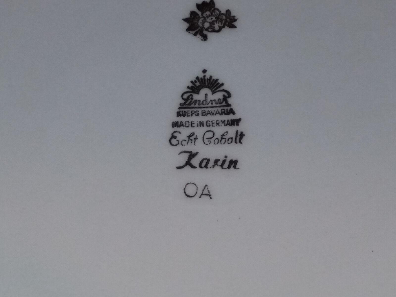 lindner k ps bavaria schaleteller echt cobalt 28 cm eur 14 90 picclick de. Black Bedroom Furniture Sets. Home Design Ideas