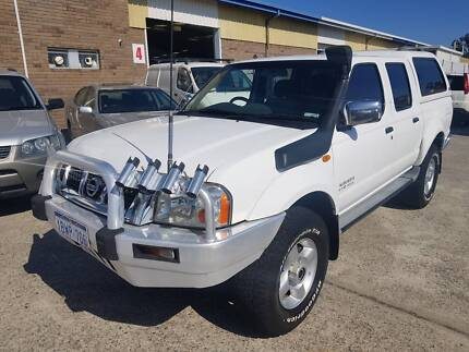 2005 Nissan Navara ST-R Dual Cab Ute 3.0L Turbo Diesel 226kms Wangara Wanneroo Area Preview