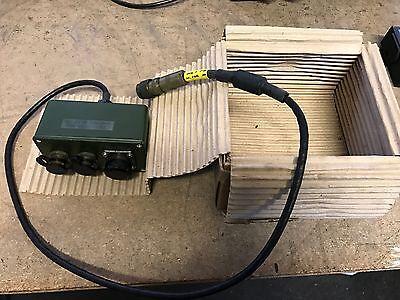 EX MOD Clansman Very Rare Test Box For PRC 351 M - NSN - 6625995072321