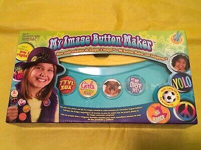 My Image Button Maker Kit. Kids Craft Photo Image Badges Pins Magnets Craft Badges Pins