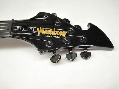 2001 Washburn  USA POP TOP Electric Guitar PT3 Offset V Can Opener RARE