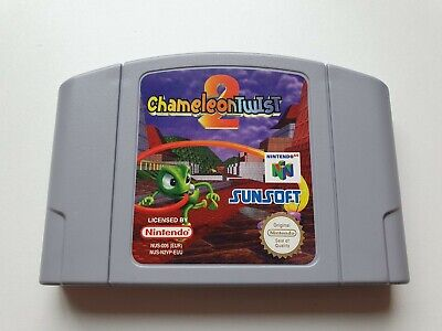 Chameleon Twist 2 - N64 - Spiel Modul - Nintendo 64 - sehr guter Zustand