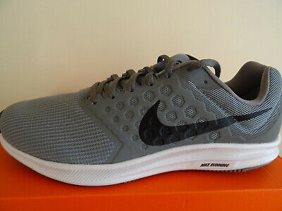 Nike Downshifter 7 trainers shoes 852459 009 uk 8 eu 42.5 us 9 NEW+BOX
