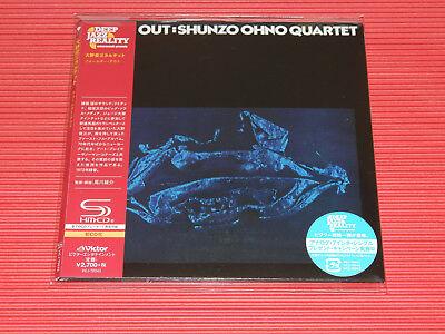 SHUNZO OHNO QUARTET FALTER OUT  JAPAN MINI LP SHM CD