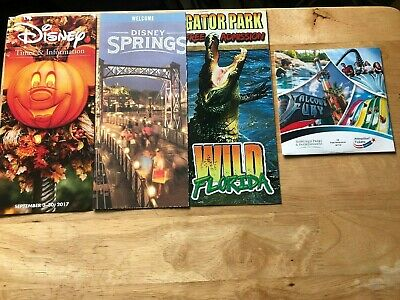Orlando Sealife DVD Disney Springs, Disney Halloween 2017 Wild Florida Leaflets