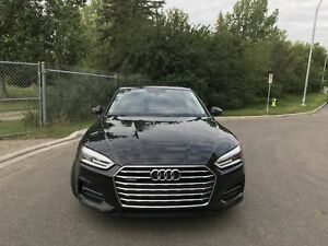 2018 Audi A5 with more warranty than new!