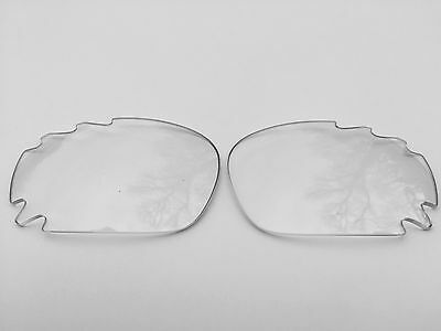 NEW REPLACEMENT CLEAR TRANSPARENT OAKLEY JAWBONE & RACING JACKET VENTED LENSES