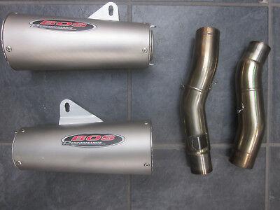 Kawasaki Z 1000 / SX  BOS Schalldämpfer Auspuff Sportauspuff Slip On NP 799 TOP! gebraucht kaufen  Bocholt