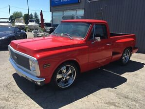 1971 Chevy C-10 short box updated LT1 700r