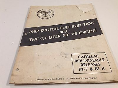 1982 Cadillac Digital Fuel Injection and the 4.1 Liter V8 Engine (Digital Fuel Injection)