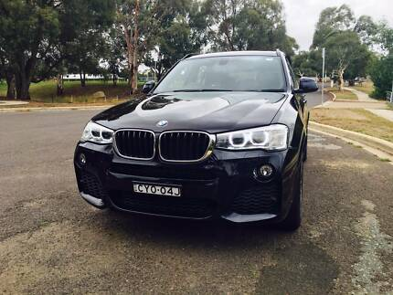 BMW X3 xDrive20d M-Sports Googong Queanbeyan Area Preview