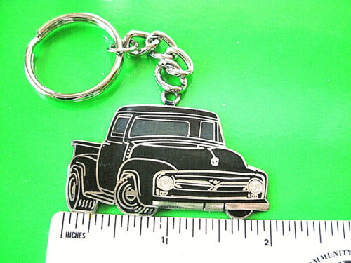 56 1956  FORD  PICK UP TRUCK - keychain  , key chain GIFT BOXED