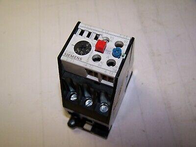 Siemens 10-16 Amp Overload Relay 600 Vac 3ua59 00-2a