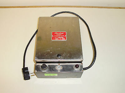 Lipshaw Electric Lab Drier Model 207 115 V 2.7 Amp Tested In Good Working Order