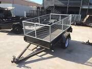 7x4 Box Trailer with Galvanised 2ft Cage Thomastown Whittlesea Area Preview