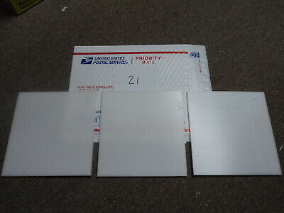 White Delrin Acetal Sheet Block Cnc Mill 3 Pieces21