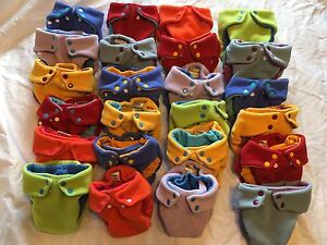 Fleece Pocket Diapers - Small and Medium Sizes