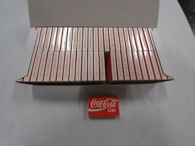 Rare Vintage Full Carton of 50 Boxes of1980's/90's Coca Cola Coke Matchboxes