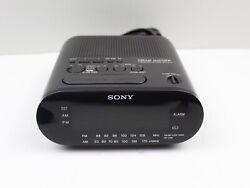Sony Dream Machine Black FM/AM Alarm Clock Radio ICF-C218 - TESTED!