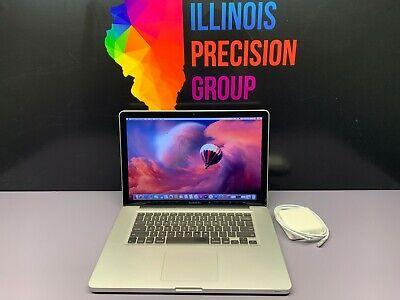 ✨ Apple MacBook Pro 15 ✨ Intel Core ✨ 8GB RAM 1TB SSD ✨ WARRANTY ✨OSX-2015 ✨