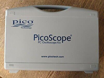 Pico 5204 Kit Picoscope Oscilloscope Bundle Scope Probes Case