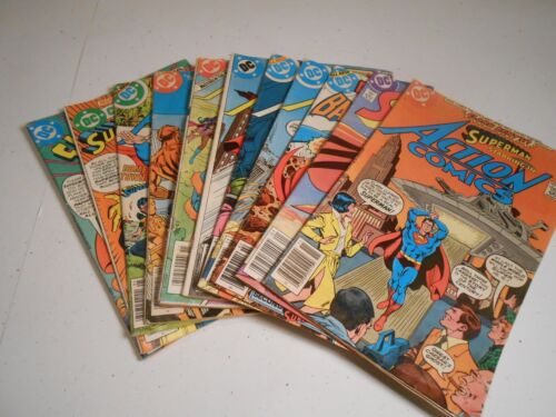 11 DC Issues Lot of Bronze Age Comic Books