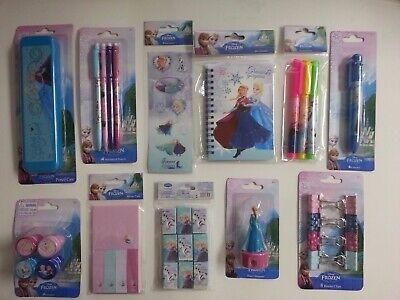 """""SALE"""" Disney Frozen  Toys Elsa and Anna Kids Stationery Set (34 PC)"