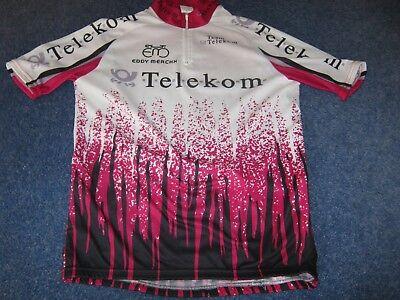 Team Telecom Eddy Merckx Vintage Belgian Replica cycling jersey  39