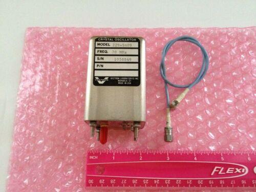 Vectron Crystal Oscillator MODEL: 229-9609 , FREQ:  70 Mhz