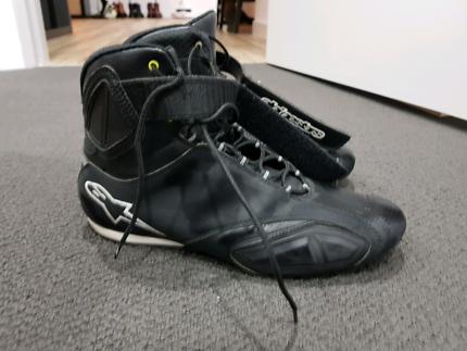 Alpinestars motorcycle boots size 13 US