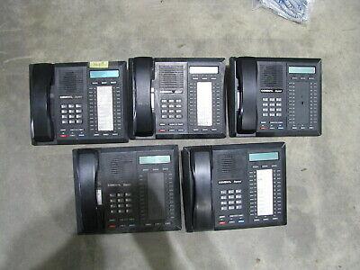 Lot Of 5 Comdial Impact 8024s-gt Office Phones Business Spearkphones Display