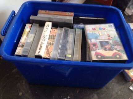 Box of vcr's  Wilby Moira Area Preview