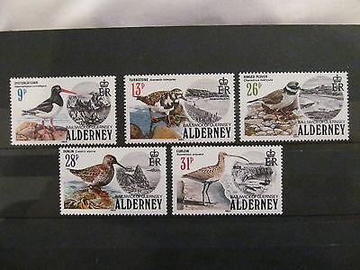 GB Alderney 1984 Birds SG A13-A17 - Unmounted Mint