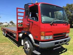 2006 Mitsubishi Fighter FN14 6x2 Traytop truck.14 Pallet,airbag. Inverell Inverell Area Preview