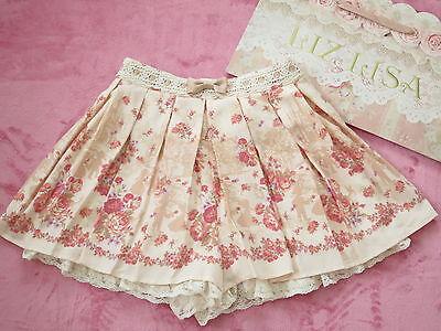 Liz Lisa skirts (Lined Shorts) Lolita Hime Gyaru shibuya109 Very Cute (b480)