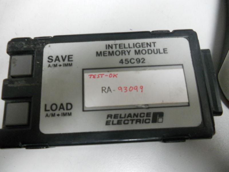 RELIANCE ELECTRIC 45C92 MEMORY MODULE 45C92