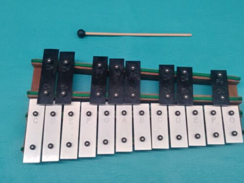 Xylophone Rhythm Band Inc Hamamatsu Japan 20 Key w/ Case & 1 Mallet Music